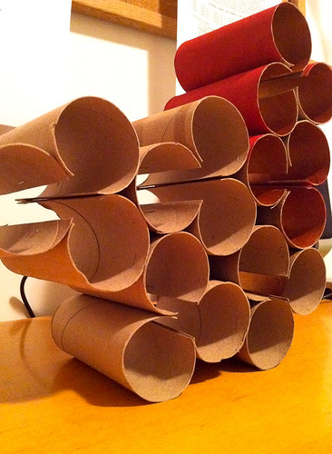 Toilet paper roll art-2