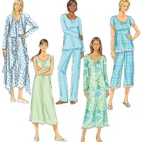 Butterick 5571 Sleepwear Sets