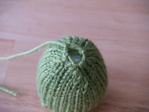 Knit Gumdrops, Step 4