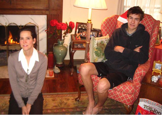 Mom and Sam
