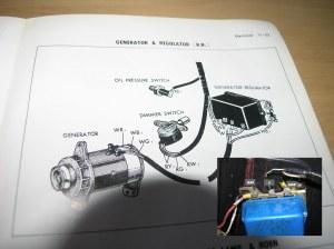 generator voltage regulator wiring question ; Amp gauge | IH8MUD Forum