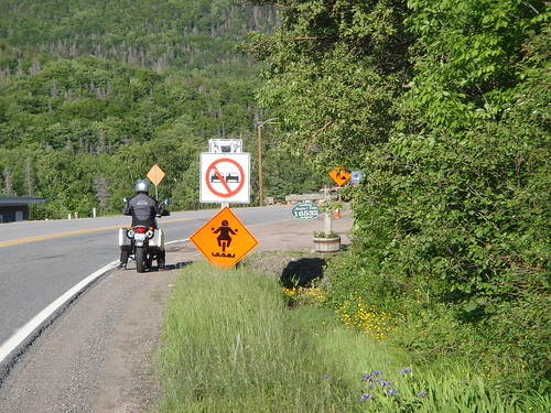 Watch out motorcyclists!