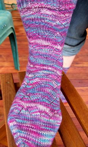 sweet pea socks