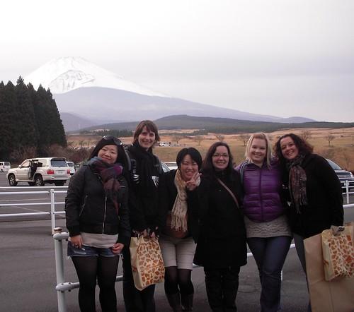 Fuji Safari Park (Azusa, Jenny, Kumi, Megan, Kassondra, me)