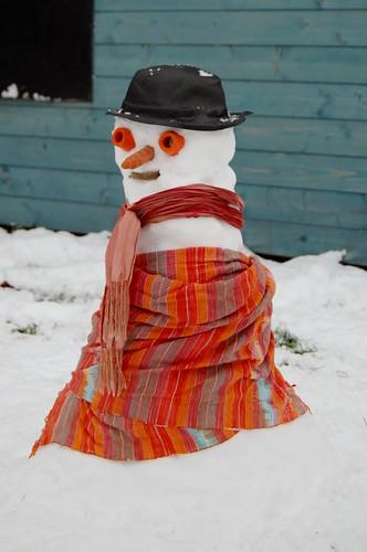 sneeuwvrouw Lisa