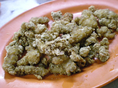 Bukit Tambun fried mantis prawns