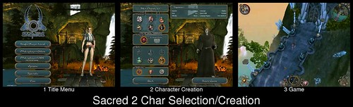 Character Creation in Sacred 2