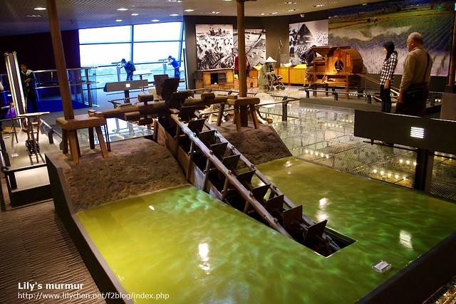 平原層展覽之一,農家的水車。