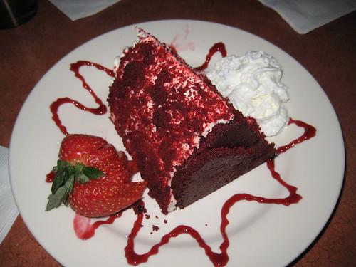 red velvet cake, yum