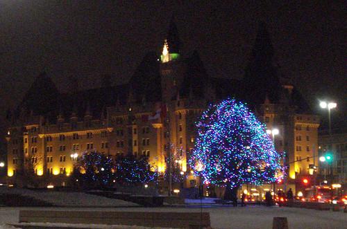 Ottawa on a Winter Night