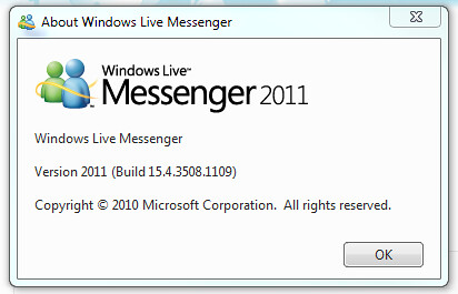 Windows Live Messenger 2011 QFE
