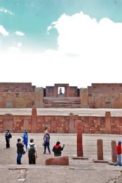 Tiwanaku sunken courtyard