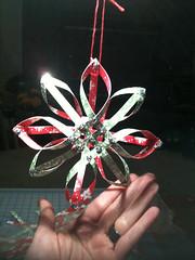 Woven Paper Ornament