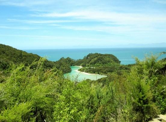 View from Abel Tasman Hiking