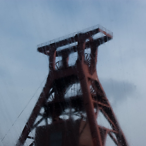 Zollverein in the rain