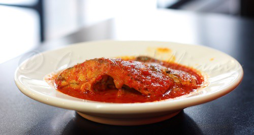 Tilapia in Red Sauce