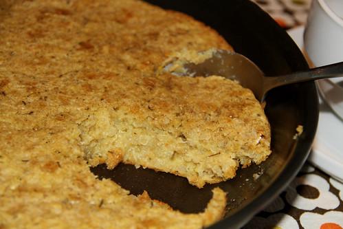 quinoa skillet bread $0.34