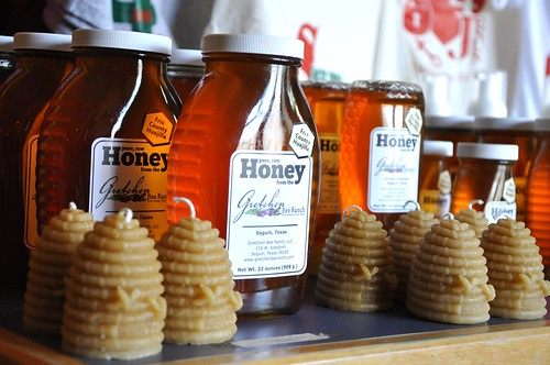 GBR honey & candle display