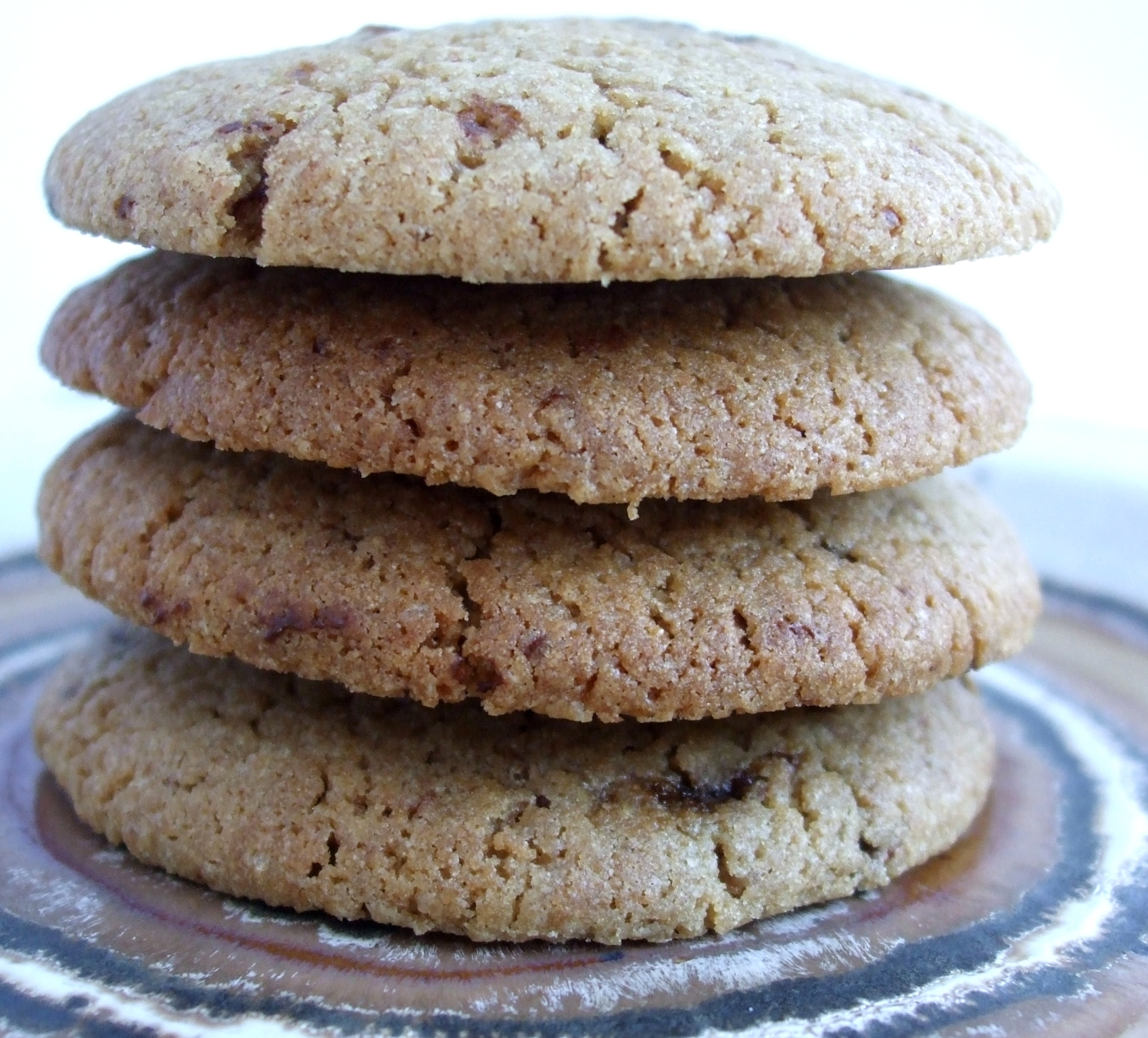 Happily Wholemeal Choc Chip Cookies