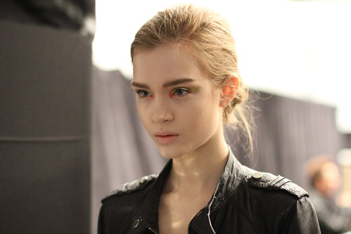 Yigal Azrouel Fall 2011- Backstage (3)