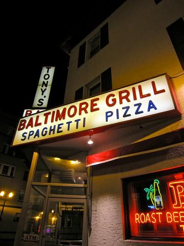 Tony's Baltimore Grill Atlantic City, NJ