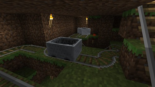 Auto Minecart Station - Main Cart Return