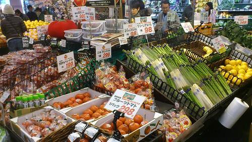 Plenty of fresh fruit and veg