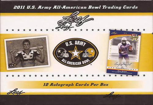 2011 Leaf US Army All American box