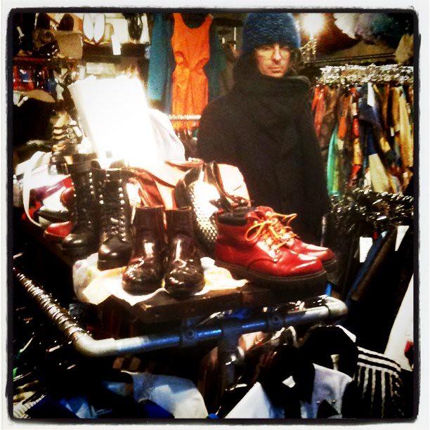 vintage clothes shop brick lane east london
