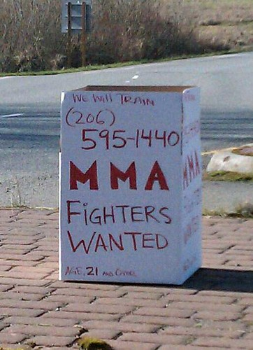 Call for Mixed Martial Arts Fighters