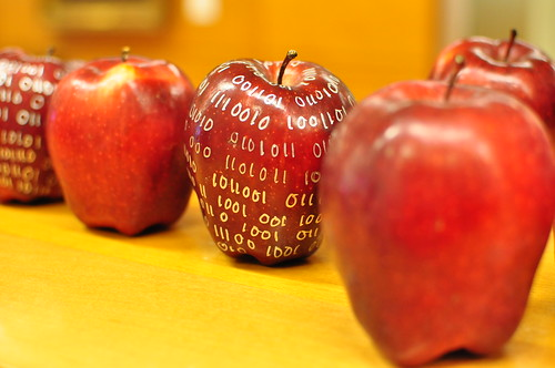 binary apples