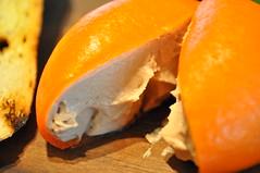 Starter detail: Meat Fruit