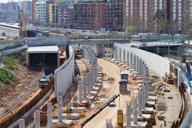 Zona Estació de Sant Andreu - 21-03-11