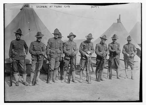 Soldiers at Texas City (LOC)