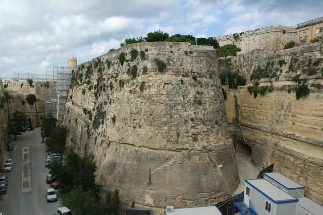 City Gates Ramparts, Valletta Malta