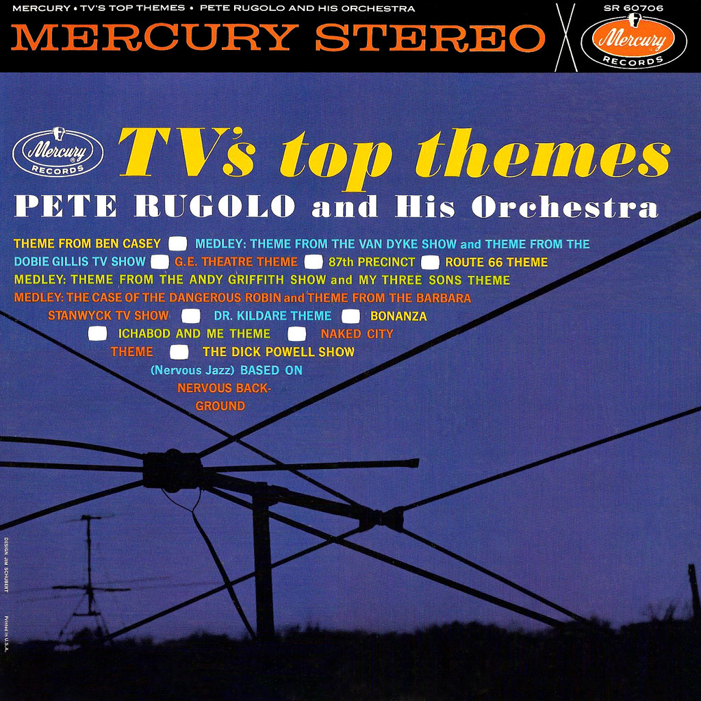 Pete Rugolo - TV's Top Themes