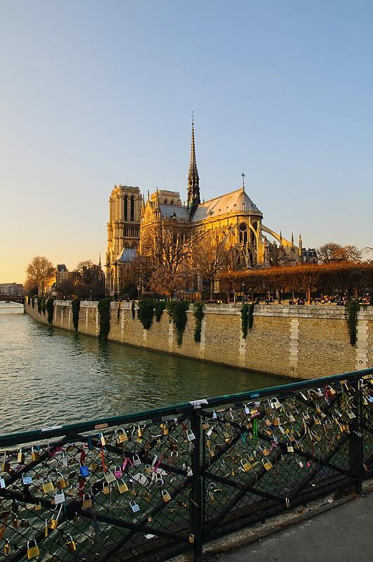 Locker Bridge and Notre Dame