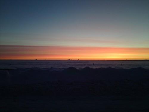 Рассвет на Финском заливе // Sunrise on the Gulf of Finland
