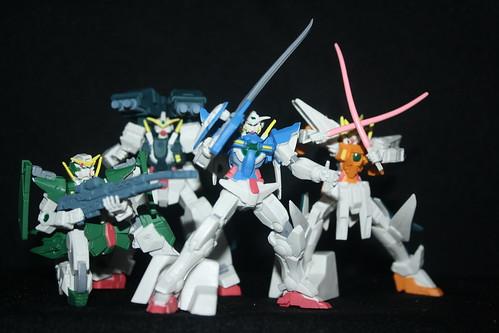 30/365 Gundam 00 Gashapon