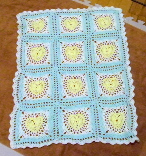 Spare baby blanket 6