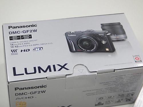 Panasonic GF2 外盒