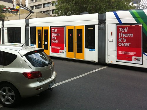 Do the Switcheroo tram in Melbourne