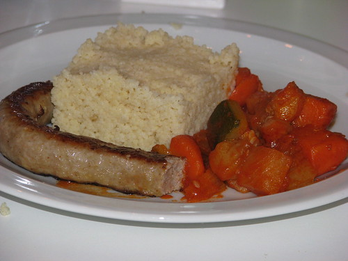 Couscous met couscousgroenten