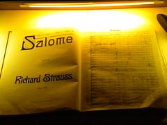 Partitura Salome.