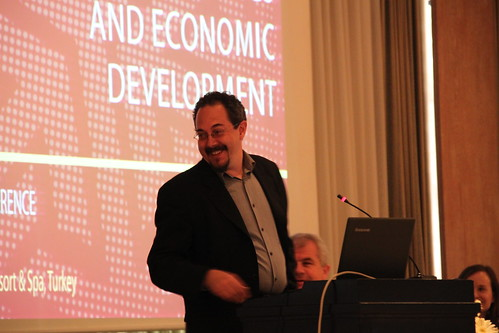 Gary Milante speaking in the Second Plenary Session at the ERF 17th Annual Conferene