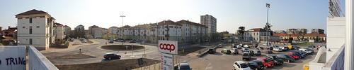 Il parcheggio rialzato by Simone Saviolo