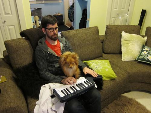 Keytar Dog
