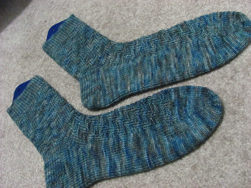 dad's socks done!
