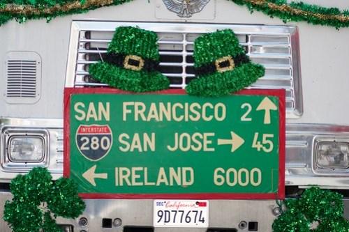 2011 St. Patrick's Day Parade San Francisco