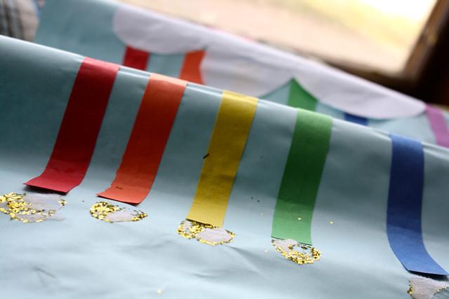glitter rainbow - 1